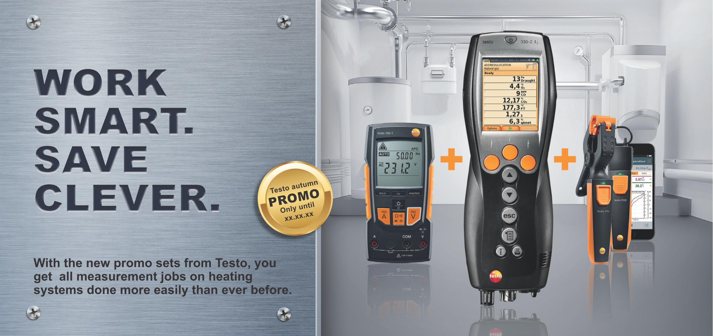 Global Test Smart Probe Testo 510i Attractive Promo Sets From For All Measurement Jobs On Heating Systems