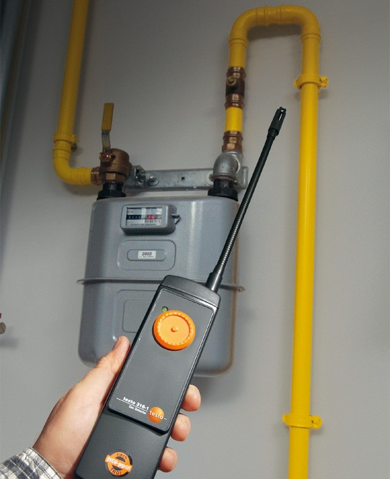 Data Loggers And Natural Gas Detectors : Testo global test